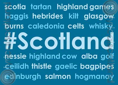 #Scotland Magnet (H) (Apr)