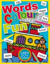 Words Colour Fun Book 2