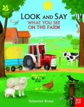 Look & Say What You See on the Farm (Mar)