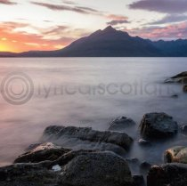 Elgol Sunset, Skye Colour Photo Greetings Card