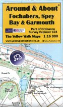 A&A Map Fochabers, Spey Bay & Garmouth