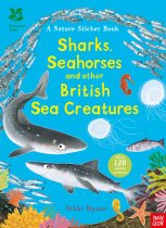 Nature Sticker Book: Sharks, Seahorses & Sea Creatures (May)