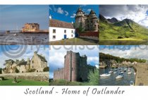 Scotland: Home of Outlander Postcard (HA6)