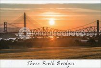 Three Forth Bridges Postcard (H A6 LY)