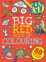 My Big Red Book of Colouring