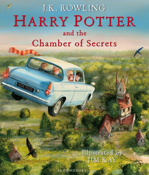 Harry Potter 2: Chamber of Secrets Illustrated
