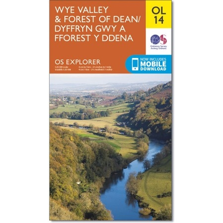 Explorer OL 14 Wye Valley & Forest of Dean