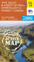 Explorer Active OL 14 Wye Valley & Forest of Dean