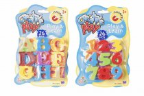 Creative Play Magnetic Letters & Numbers 2 Asst