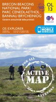 Explorer Active OL 13 Brecon Beacons Eastern Area