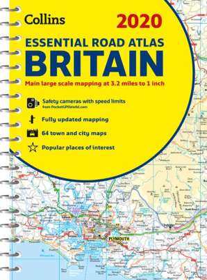 2020 Essential Road Atlas Britain