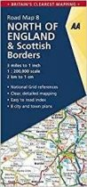 AA Road Map 08 North of England & Scottish Borders