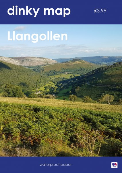 Dinky Map Llangollen (Waterproof)