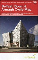 Belfast, Down & Armagh 49 Cycle Route Map