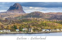 Suilven, Sutherland Postcard (H A6 LY)
