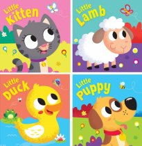 Animal Board Books 4 Asst (Brown Watson)