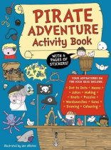 Pirate Adventure Activity Book (Jun)
