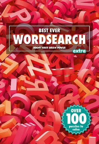 Best Ever Wordsearch Red