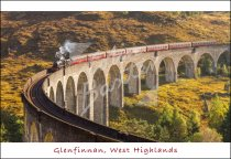 Glenfinnan Viaduct, Lochaber, West Highlands Postcard (H Std CB)