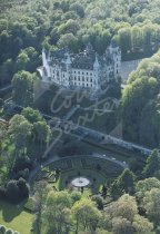 Dunbrobin Castle, Sutherland From Air Postcard (H Std CB)