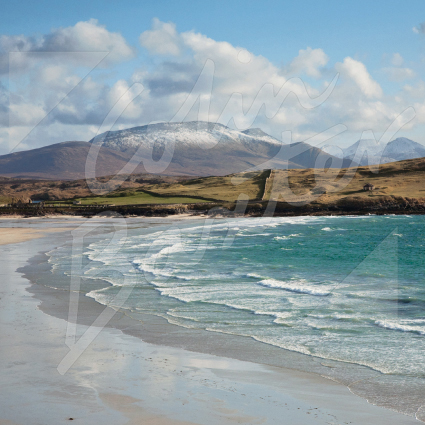 Balnakeil Bay, NW Sutherland Greetings Card (CB)