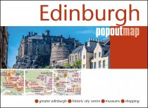 Edinburgh PopOut Map