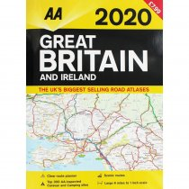 2020 Great Britain & Ireland Road Atlas