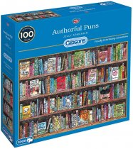 Jigsaw Authorful Puns 1000pc (Nov)