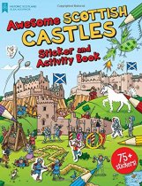 Awesome Scottish Castles Sticker & Activity Book(Mar