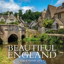 2021 Calendar Beautiful England (2 for £6v) (Mar)