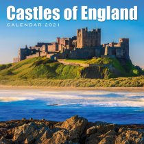 2021 Calendar Castles of England (2 for £6v) (Mar)