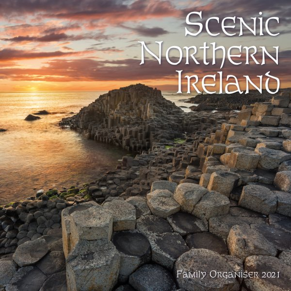 2021 Calendar Scenic Northern Ireland Fam Org (2 for £6v) (Mar)