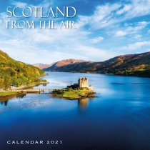2021 Calendar Scotland from the Air (2 for £6v) (Mar)