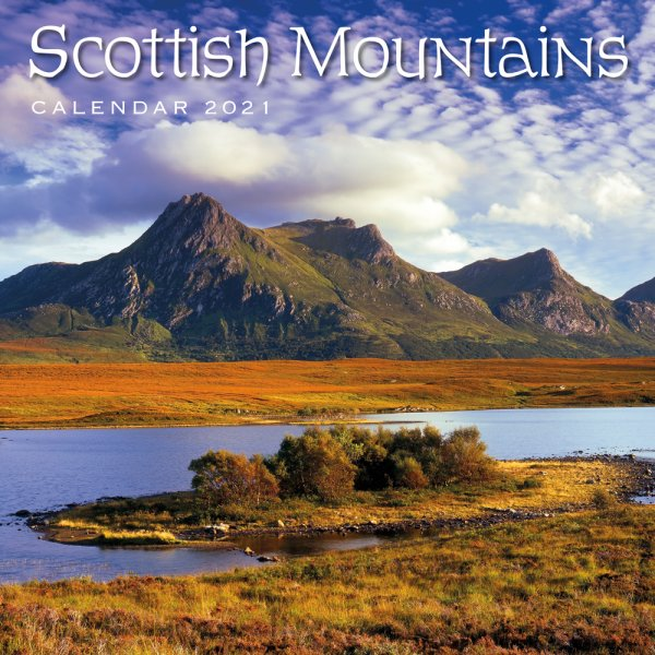 2021 Calendar Scottish Mountains (2 for £6v) (Mar)