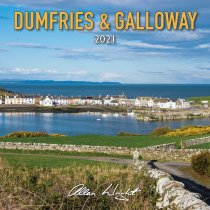 2021 Calendar Dumfries & Galloway (Mar)