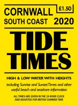 Tide Times: Corwall South, Falmouth (Mar)
