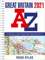 Great Britain Road Atlas 2021 A4 Spiral