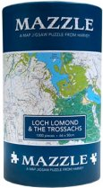 Mazzle Map Jigsaw Loch Lomond & Trossachs (Harvey)