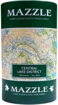 Mazzle Map Jigsaw Central Lake District (Harvey)