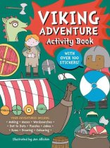 Viking Adventure Activity Book (Oct)