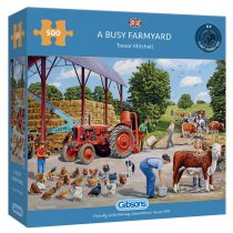 Jigsaw Busy Farmyard 500pc