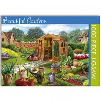 Jigsaw Beautiful Gardens 1000pc (Apr)