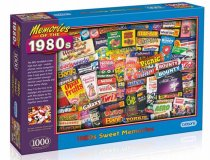 Jigsaw 1980s Sweet Memories 1000pc (Mar)