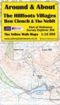 A&A Map Hillfoot Villages, Ben Cleuch & the Nebit