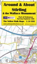 A&A Map Stirling & the Wallace Monument