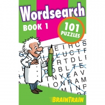 BrainTrain 101 Puzzles Wordsearch Book 1