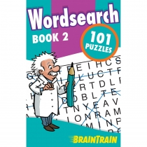 BrainTrain 101 Puzzles Wordsearch Book 2