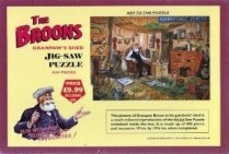 Broons Jigsaw Granpaw's Shed