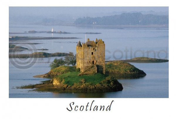 Castle Stalker - Scotland Postcard (HA6)