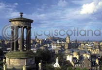 Edinburgh City From Calton Hill (HA6)